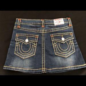 Women's TRUE RELIGION Joey Super T Skirt Size S